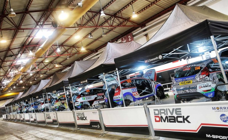 Drivers from around the world will compete in the Drive Dmack Fiesta Trophy