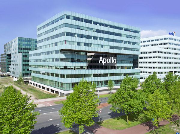 At home in Apollo House – the tyre maker's European management team is now based in Amsterdam