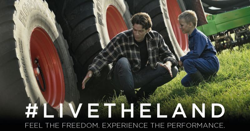 The #LIVETHELAND campaign focuses on the themes of 'Feel the freedom' and 'Experience the performance'