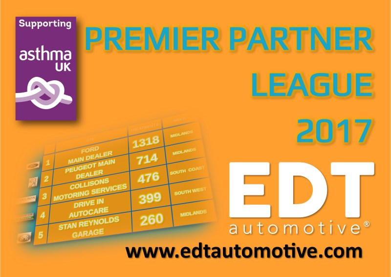 EDT Automotive's league table