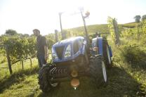 The Vredestein Traxion 65/70 applies Traxion technology to more compact tractors typically found in vineyards or orchards