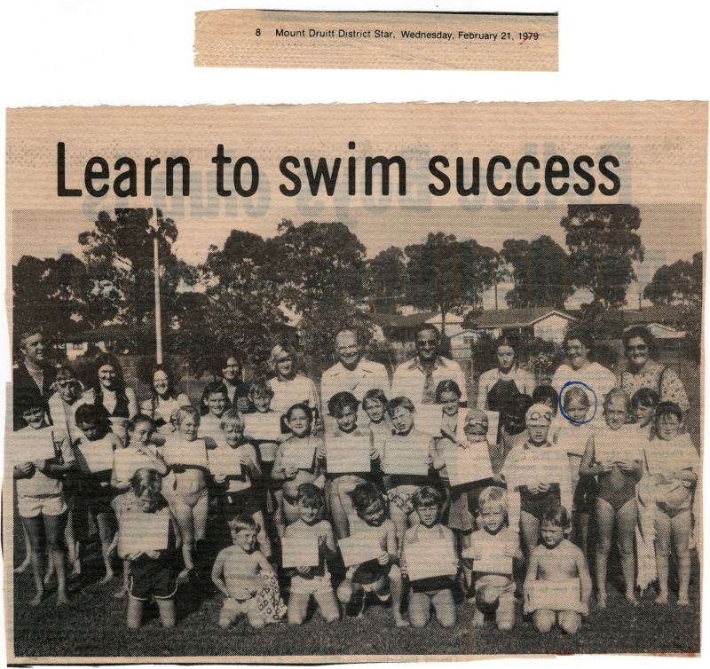 Learn to swim 1979