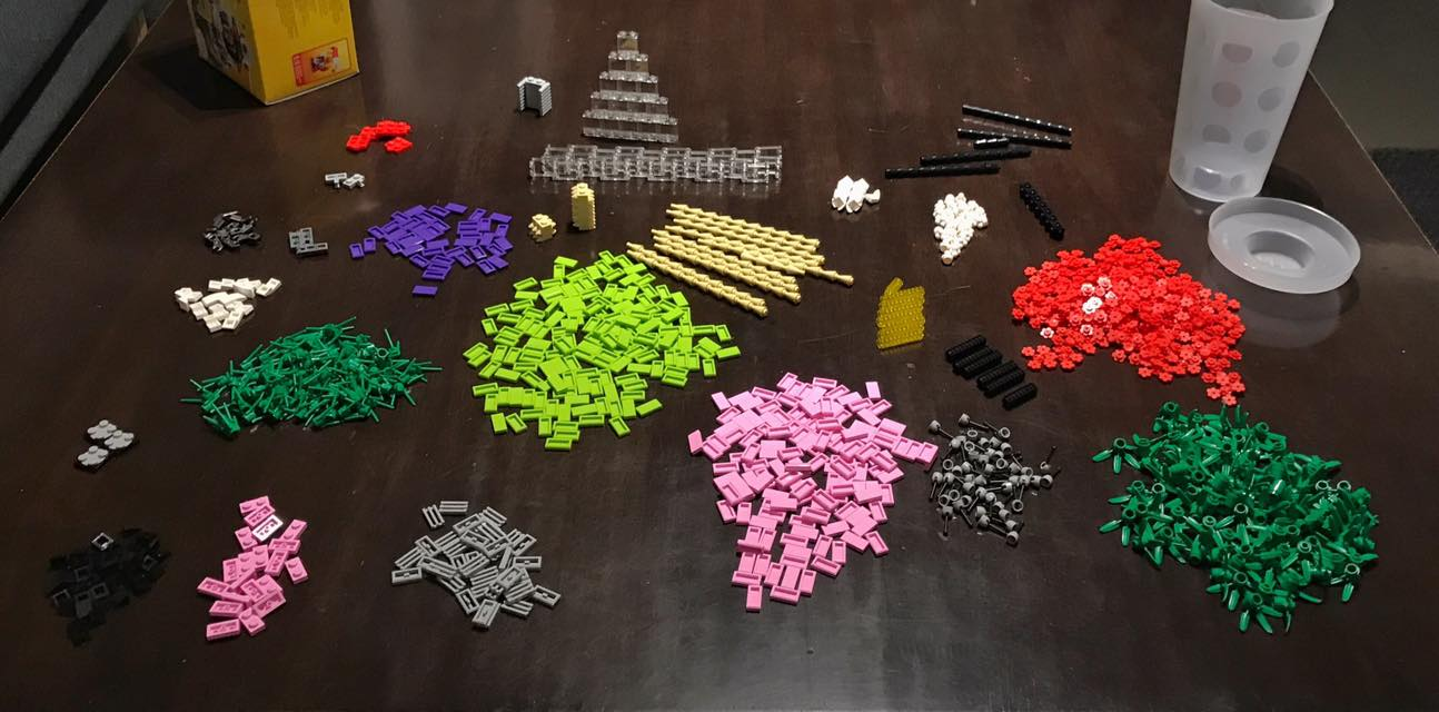 Pick-a-brick Haul