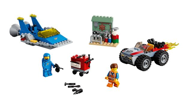 70821 - Emmet and Benny's 'Build and Fix' Workshop!