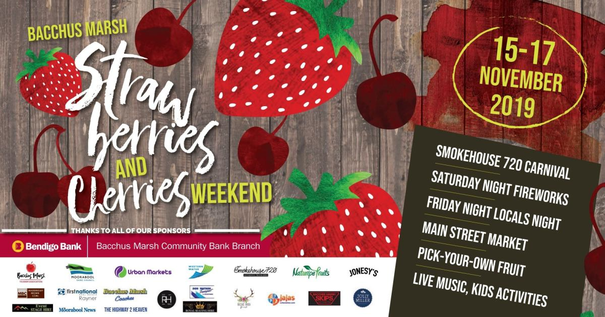 2019 Strawberries and Cherries Festival Bacchus Marsh