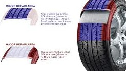 Tyre repair areas