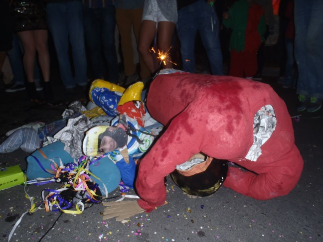 Effigies Piled And Beaten