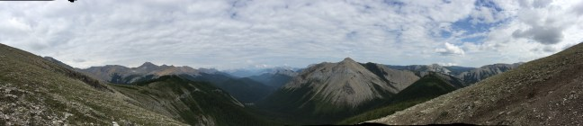 A Panoramic From The Summit