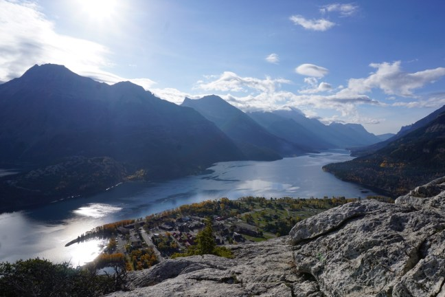 Waterton from Bears Hump