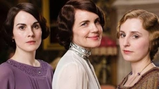 Downton Abbey, Mary, Cora, Edith