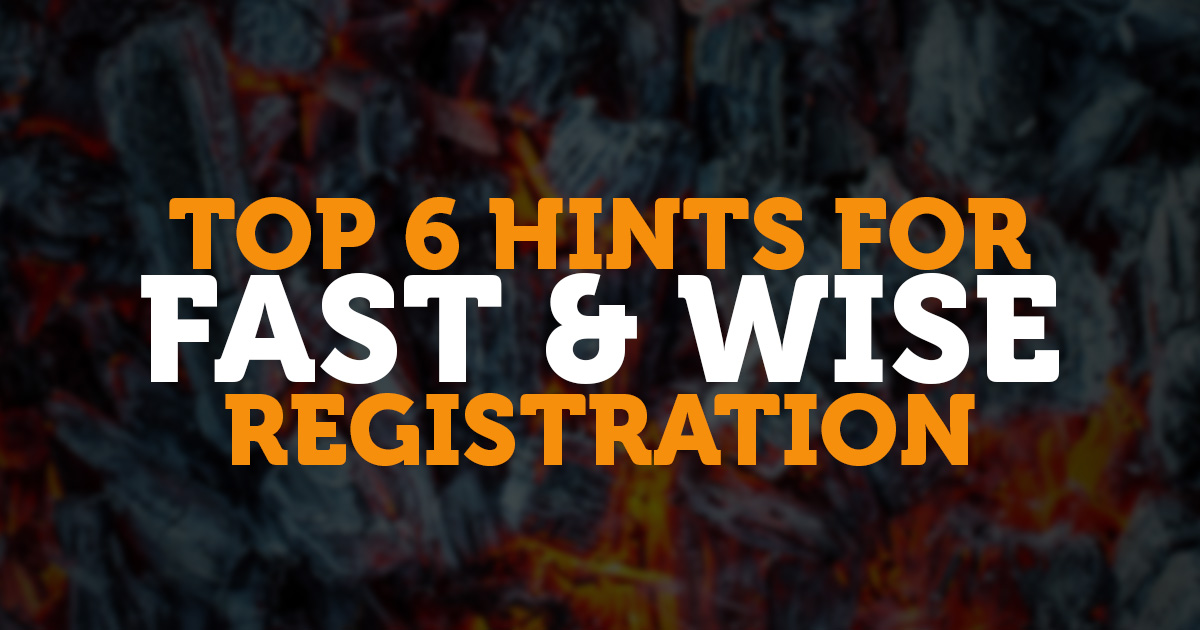 Top 6 hints for FAST & WISE registration.