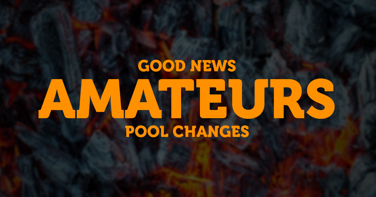 Pool and Player Cap changes