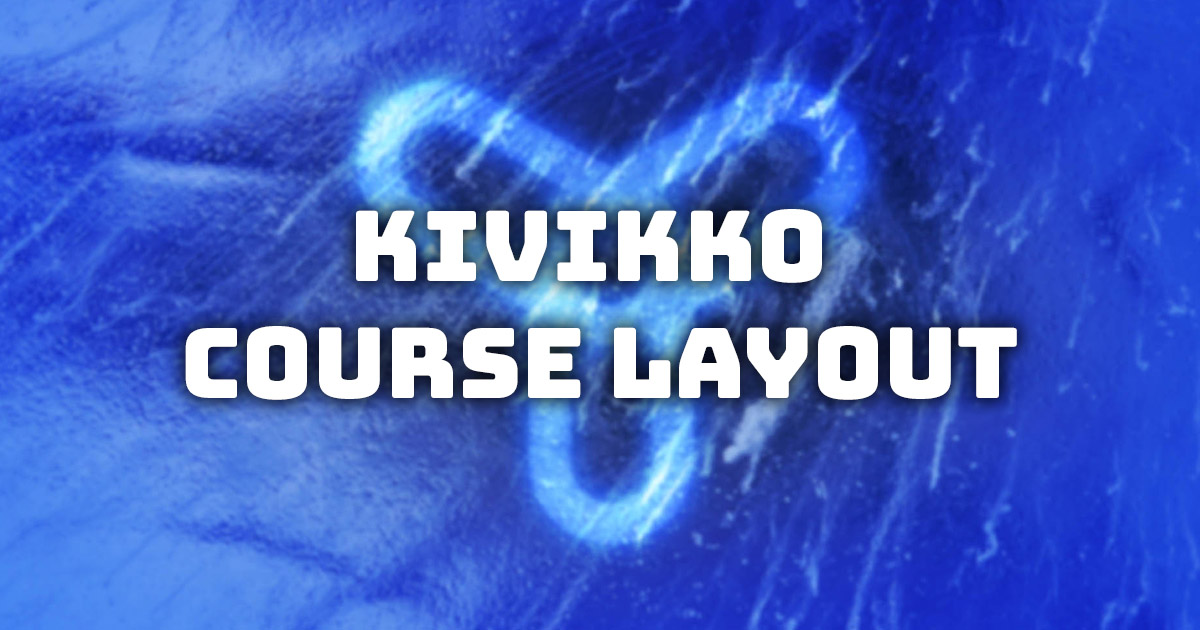 Kivikko course layout