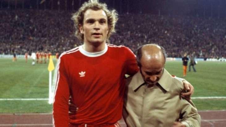 Bildergebnis für uli hoeness als spieler 1975