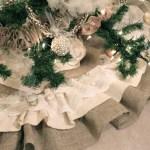 Burlap Lace Tree Skirt Tutorial U Create