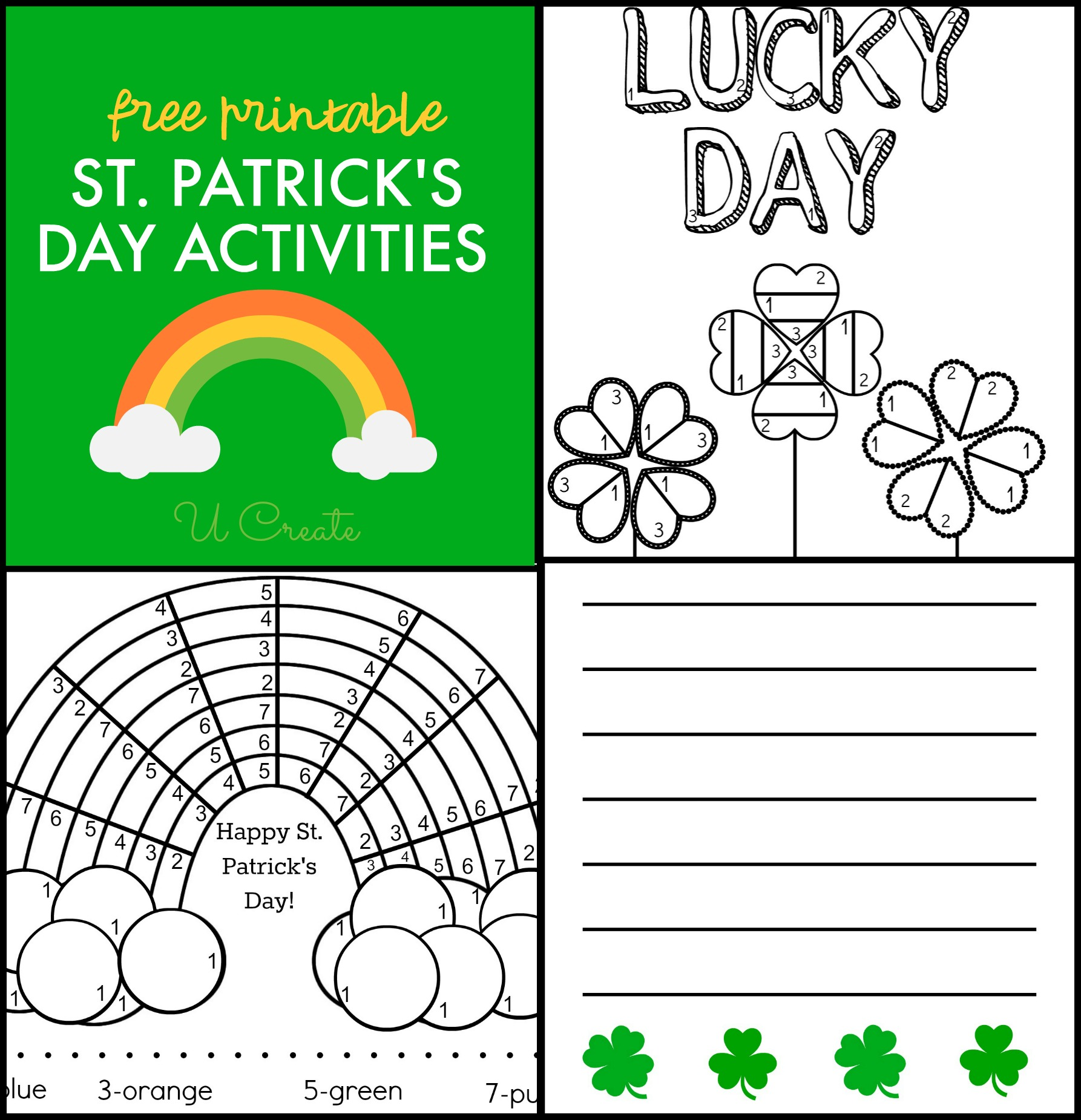Saint Patrick S Day Printables
