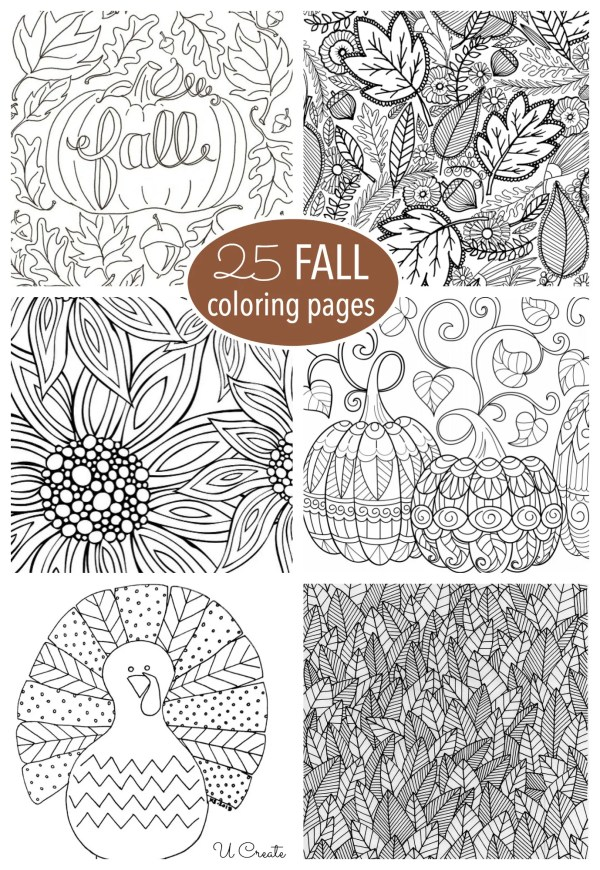 free fall coloring pages printable # 1