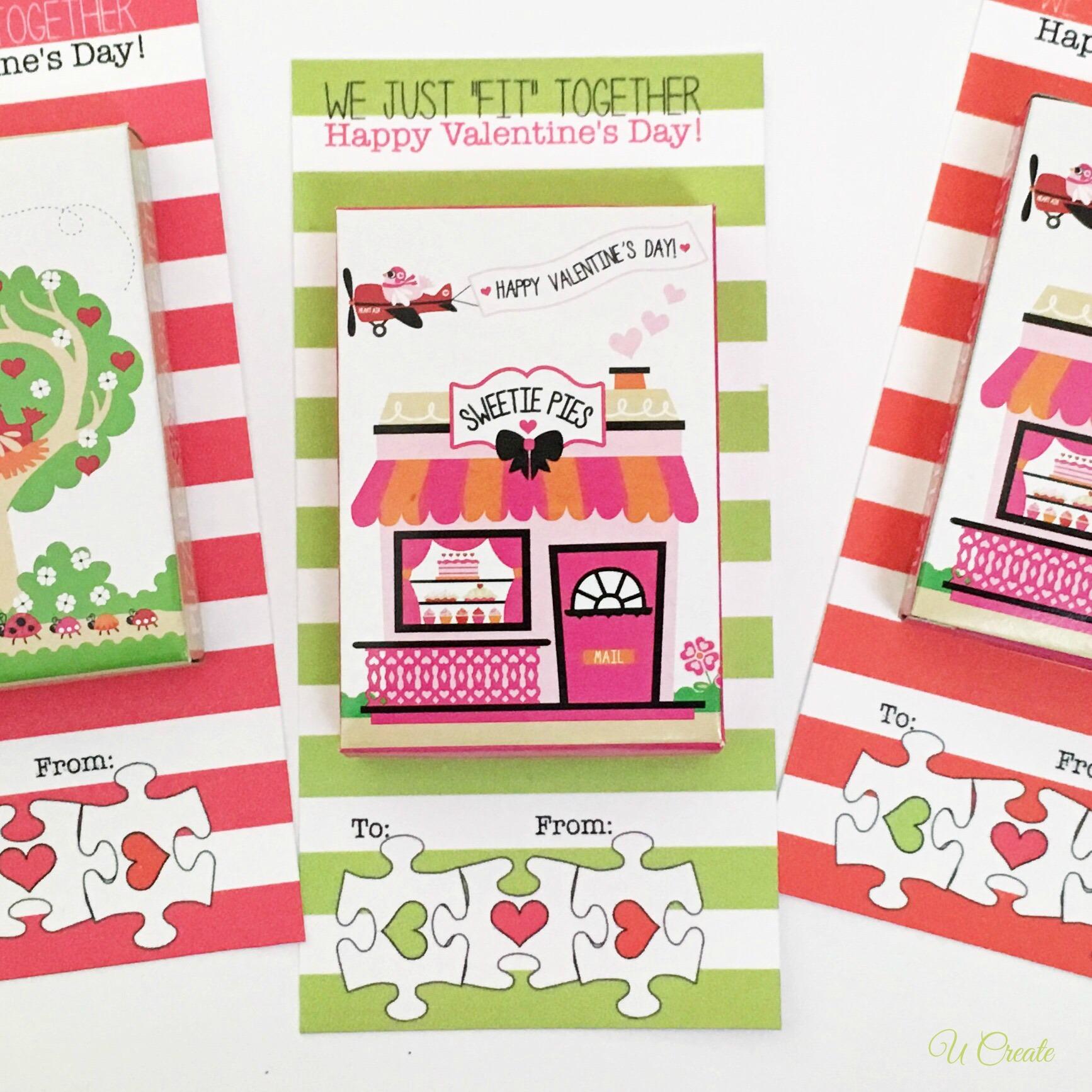 Valentine Puzzle Printables