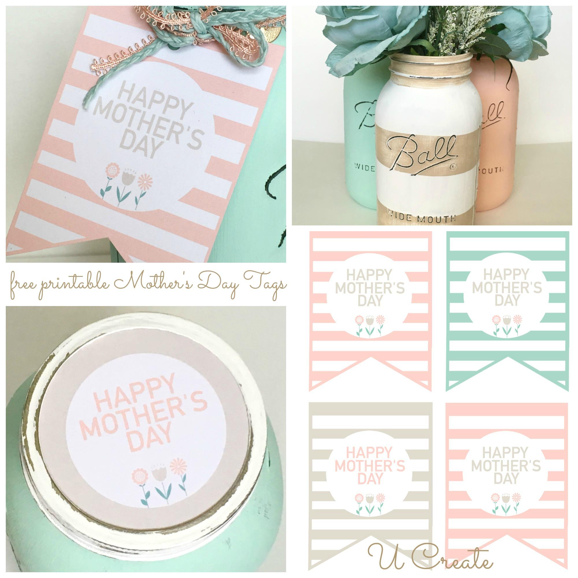 DIY Mothers Day Mason Jars