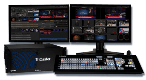 U2MG Tricaster switcher