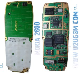 Nokia 2600 Full PCB Diagram Mother Board Layout