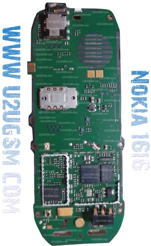 Nokia 1616 Full PCB Diagram Mother Board Layout