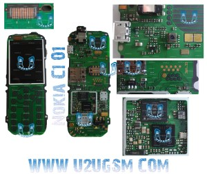 Nokia C101 Full PCB Diagram Mother Board Layout