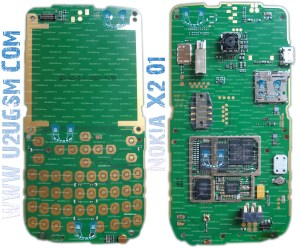 Nokia X201 Full PCB Diagram Mother Board Layout