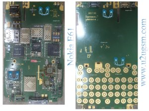 Nokia E61 Full PCB Diagram Mother Board Layout
