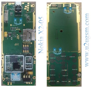 Nokia X205 Full PCB Diagram Mother Board Layout