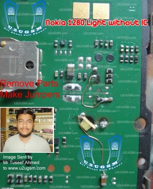 All Cellular Mobile Repair Solution: nokia 1280 light ic