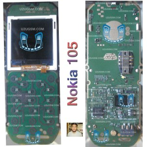Nokia 105 Full PCB Diagram Mother Board Layout
