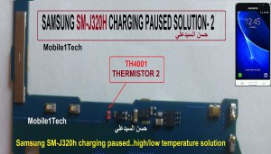 Samsung Galaxy J3 Charging Paused Solution Jumpers