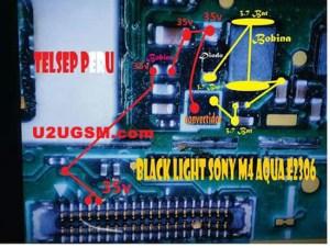 Sony Xperia M4 Aqua E2306 Display Light Solution