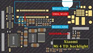 Xiaomi Mi 4 TD Display Light Solution LCD Display Light IC Solution
