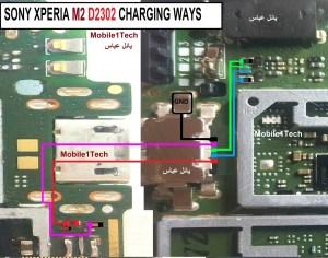 Sony Xperia M2 D2302 Charging Solution Jumper Problem Ways