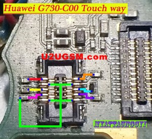 Huawei G730C00 touch screen not working problem solution