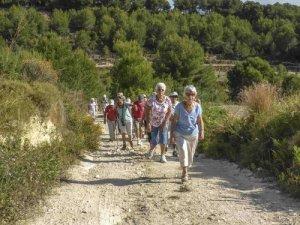 Healthy Walking: TEULADA - camis behind Font Santa @ Walk Ref: 2019 - 22a
