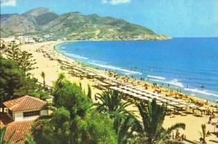 1962, Playa de Levante, Benidorm