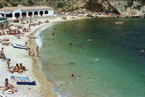 Granadella beach
