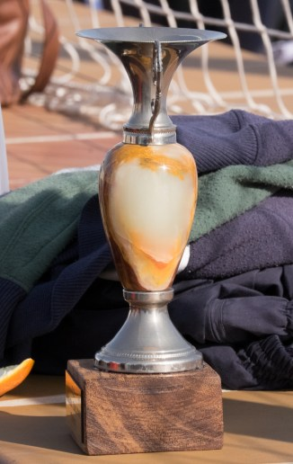 Moraira Challenge Trophy, which will stay in Moraira after the team's win