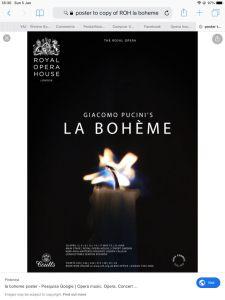 Royal Opera House Covent Garden live cinema - La Boheme @ See text