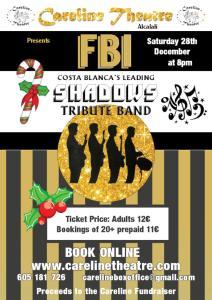 Careline Theatre presents FBI - Shadow Tribute Band @ Careline Theatre