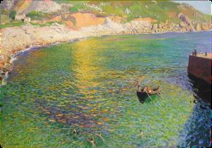 DAME LAURA KNIGHT (c.1919) Lamorna Cove