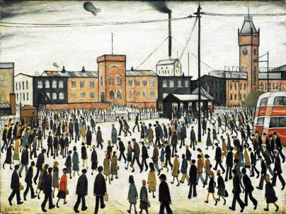 'Going to Work', L S Lowry, 1943