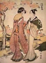 Hokusai -ladies