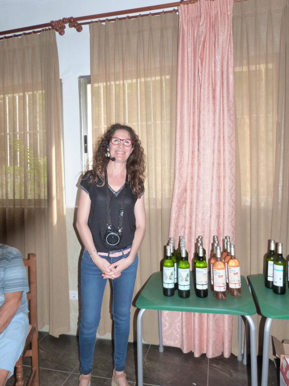 Our host - Raquel