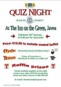 Quiz Night @ The Inn on the Green, Javea