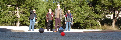 Pétanque 1 @ Purpose built rinks at Cumbre del Sol