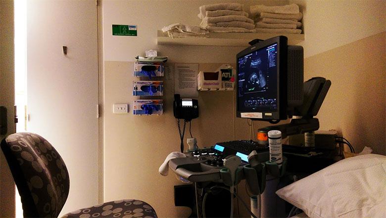 Аппарат для ультразвукового обследования